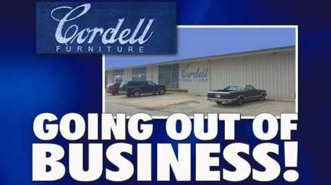 Video Cordell Furniture 39 S Going Out Of Business Commercial Store Closings Wiki Fandom
