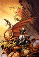 Rodney matthews stories elric the dragon lord