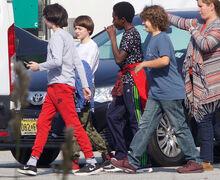 November 14, 2016 – Season Two Boys on Set