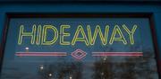 Hideaway sign