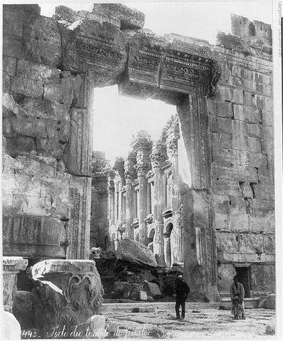 Файл:Temple of Jupiter, Baalbek, (PD).jpg