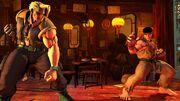 SFV Charlie faces Ryu