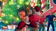 SFV Zangief's Christmas costume