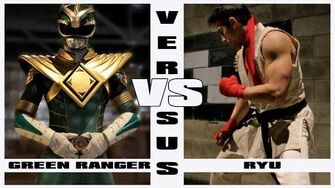 Green Ranger vs Ryu - Alternate Ending (Super Power Beat Down)