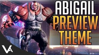 SFV - Abigail Preview Theme Song For Street Fighter 5! Extended OST