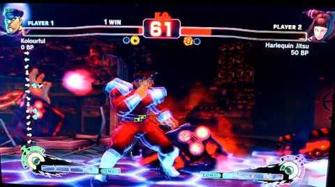 Super Streetfighter IV First match online using Juri part 2