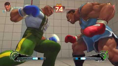 Super Street Fighter 4 - Dudley Ultra 1 Rolling Thunder