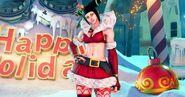 SFV Juri's Christmas Costume