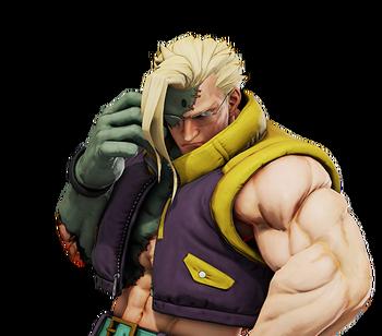Charlie Nash Street Fighter Wiki Fandom Powered By Wikia