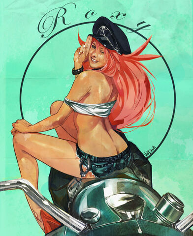 File:Final fight Roxy Pin up by Vandrell-1-.jpg