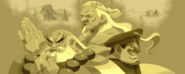 Gouken, Goutetsu, and Bison in Street Fighter Alpha-1-
