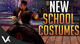 SFV - School Costumes & Thailand Stage Revealed! Artwork, Price & Release Date For Street Fighter 5