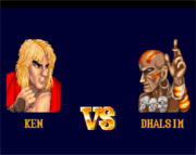SFII Ken vs. Dhalsim