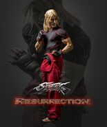 Street Fighter Resurrection Character Poster 2