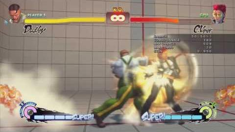 SSF4 Dudley - Combo 05 - Trick Links