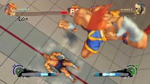 Super Street Fighter 4 - Adon Ultra 2 Jaguar Avalanche