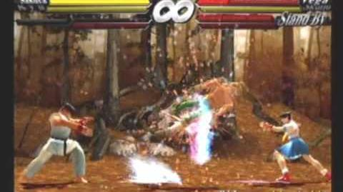 Street Fighter EX 3 - Meteor Tag Combo Exhibition