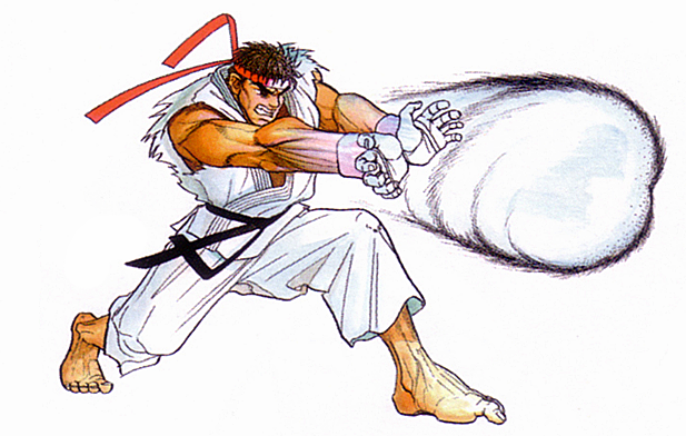 Image result for street fighter hadouken