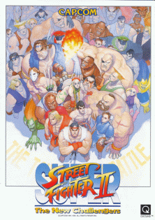 Street Fighter II US flyer