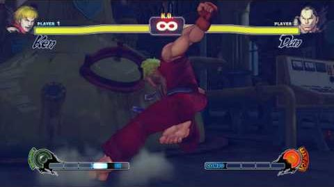 Street Fighter 4 ken ultra glitch addendum