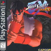 Street Fighter EX PlayStation cover