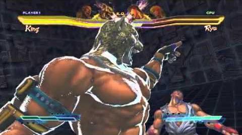 Marduk's Super Art and Cross Assault in Street Fighter X Tekken