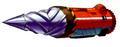 Str2 drill cruiser art