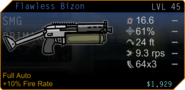 SFH2 weapons Bizon obtained