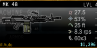 MK 48 Machine Gun