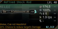 Shock Rod Melee