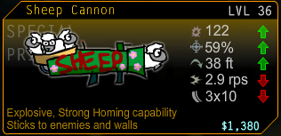 Sheep Cannon