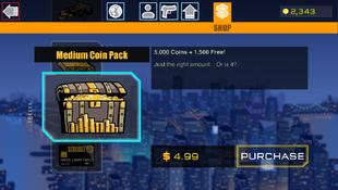 5 Medium Coin Pack