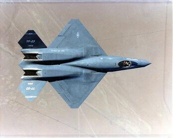 YF-23 top view