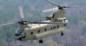 Latest-model-Chinook-helicopter-CH-47F
