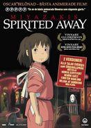 Spirited Away (Svensk DVD)