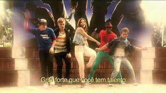 Violetta - Momento musical Cami sonha em cantar no Reality