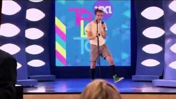 Violetta- Momento musical - Napo audiciona cantando ¨Destinada a Brillar¨