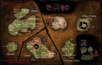 Mapa wysp by Naratoth
