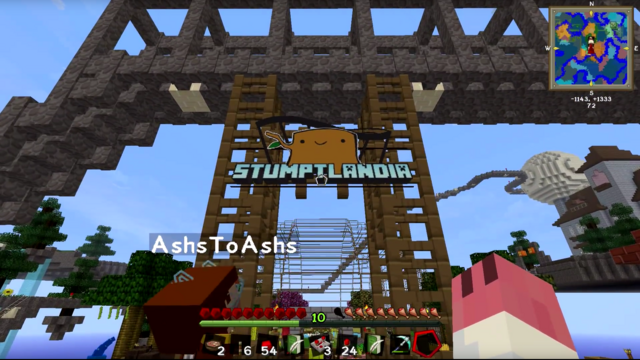File:Stumpt Minecraft Agrarian Skies Stumptlandia Banner.png