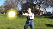 Wario fireball