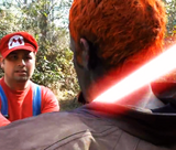 Ganondorf VS Mario
