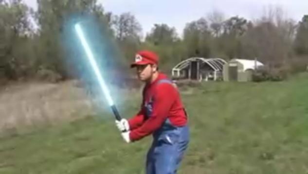 File:Mario's Lightsaber.jpg
