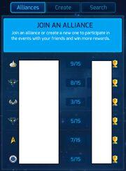 Alliance-start