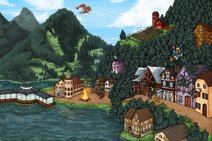 Map vetalake bonfire