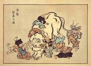 1024px-Blind monks examining an elephant