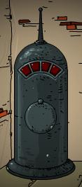 Portal stabiliser holder