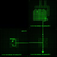 Elevator access map