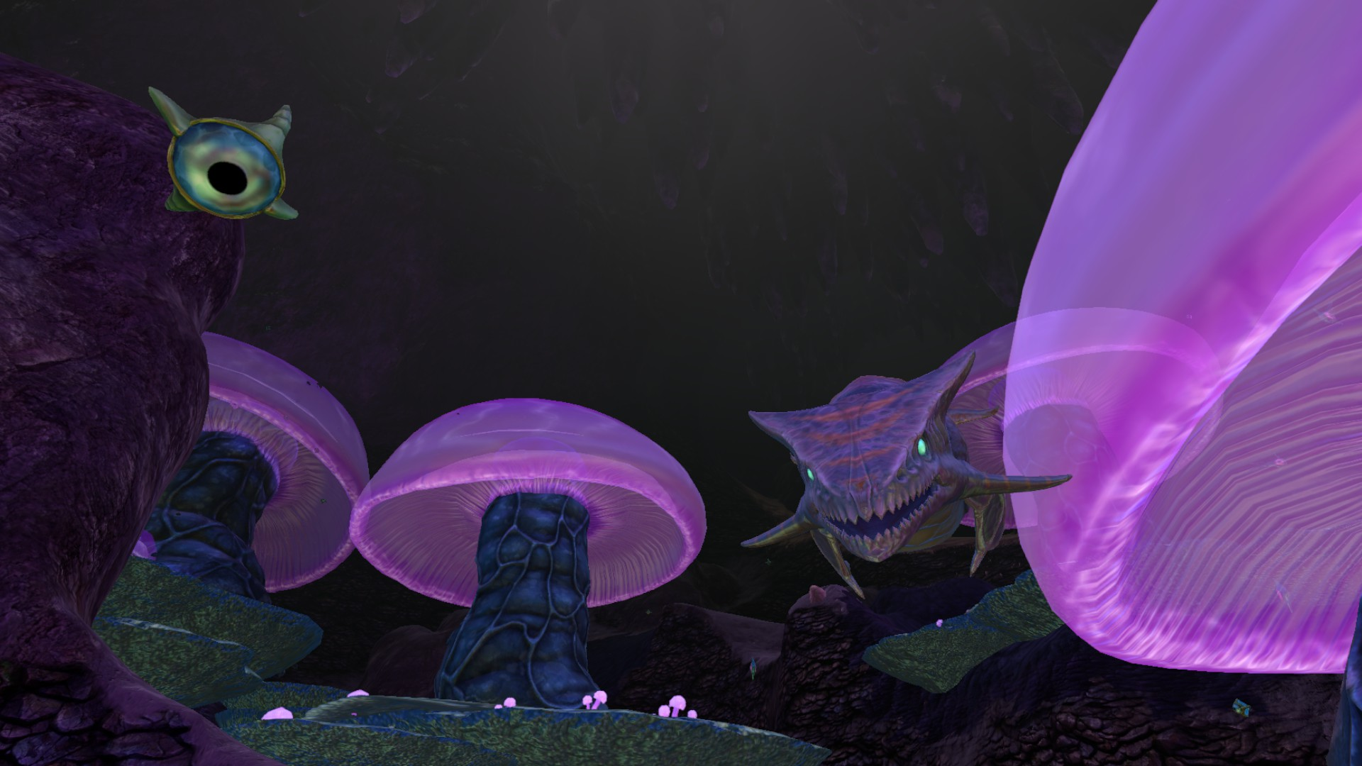 Image jelly shroom caves 7 jpg subnautica wiki for Feed and grow fish free download full game