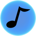 Music Icon Blue