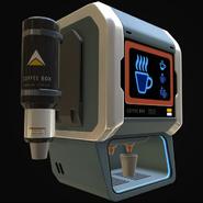 Coffee Vending Machine New Model